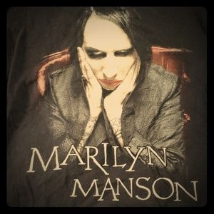 Marilyn Manson Black Tee